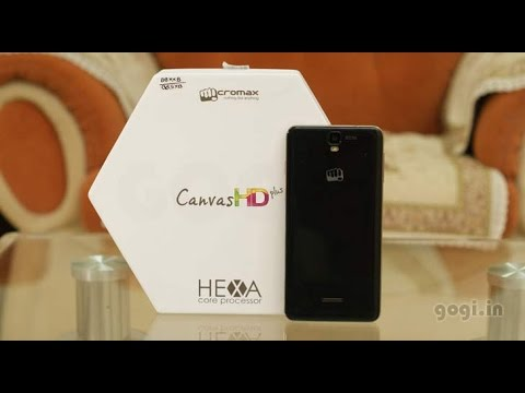 Micromax Canvas HD Plus A190 review, Benchmark, gaming and battery