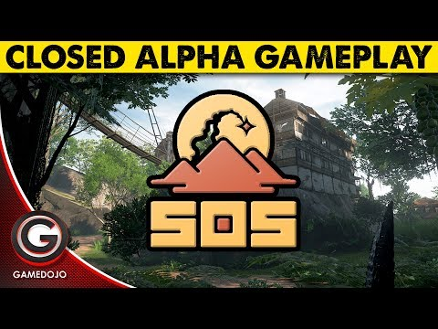 SOS Closed Alpha Gameplay 🔴Outpost Games New Survival Game!