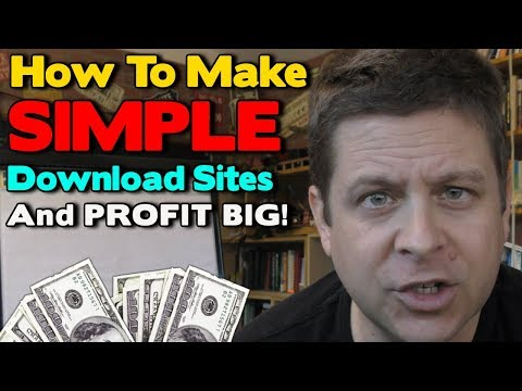 Simple Download Site Profits $287 Daily - How To Make Sites For Toolbar Download Affiliate Offers