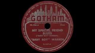 Baby Boy Warren - My Special Friend Blues