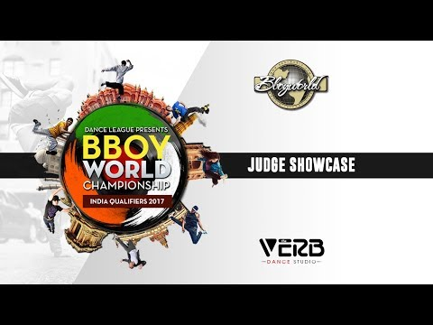 Judge Showcase | Bboy World India 2017 | TheVerb Official