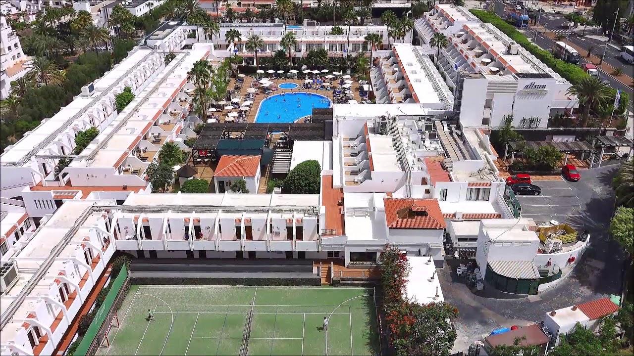 Allsun Hotel Los Hibiscos Costa Adeje Juli 2018 Teneriffa Hd Youtube