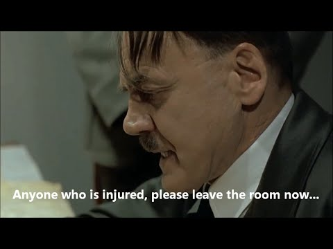 Hitler Reacts to Welsh Rugby World Cup Injury Crisis