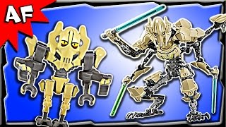 Lego Star Wars General Grievous Battle Figure 75112 Stop Motion Build Review