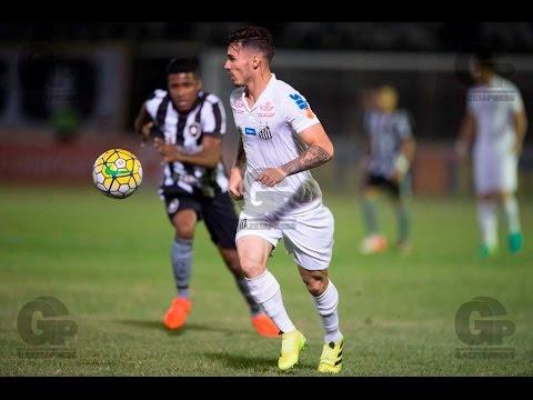 Botafogo 0 x 1 Santos - MELHORES MOMENTOS - Campeonato Brasileiro - 14/09/2016