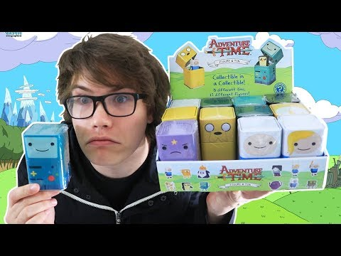 Opening 12 Adventure Time Mystery Mini Figures!