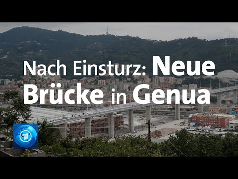 Genua: Neue Brücke