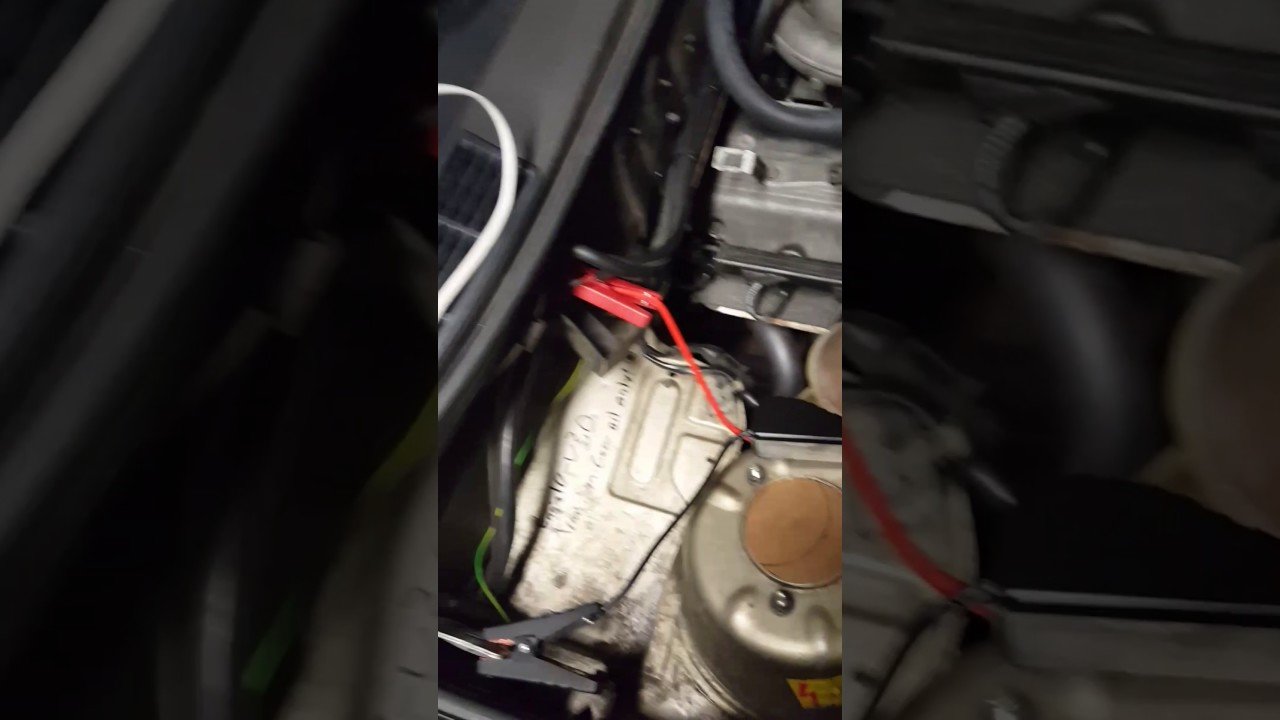 E30 open trunk without battery or key