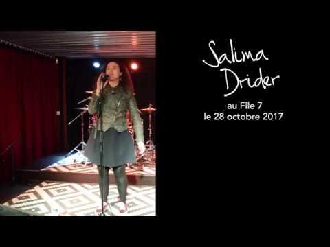 dd43152068a4fb Salima Drider en Show Case chez FILE 7 - 1 er Album