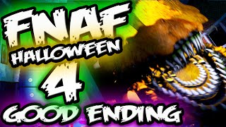 FNAF 4 HALLOWEEN EDITION ENDING | Good End! Night 6 | Five Nights at Freddy's 4 Halloween Ending