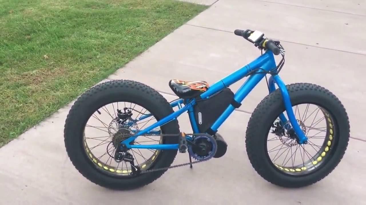 Kids Bbs02 Fat Bike Youtube