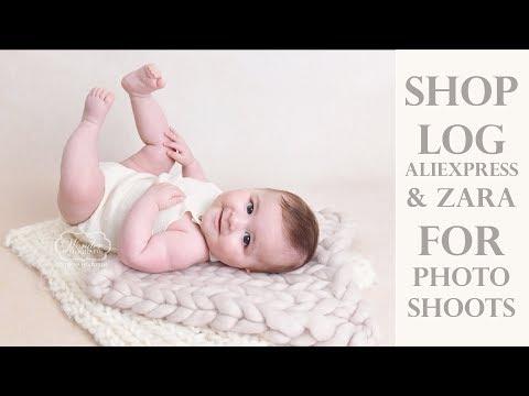 Photo Shoot Shoplog Aliexpress & Zara Sitter Outfits and Cake Smash decor