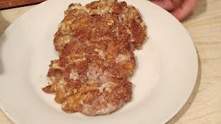 Как приготовить вкусный шницель из свинины вкусно,быстро,просто.