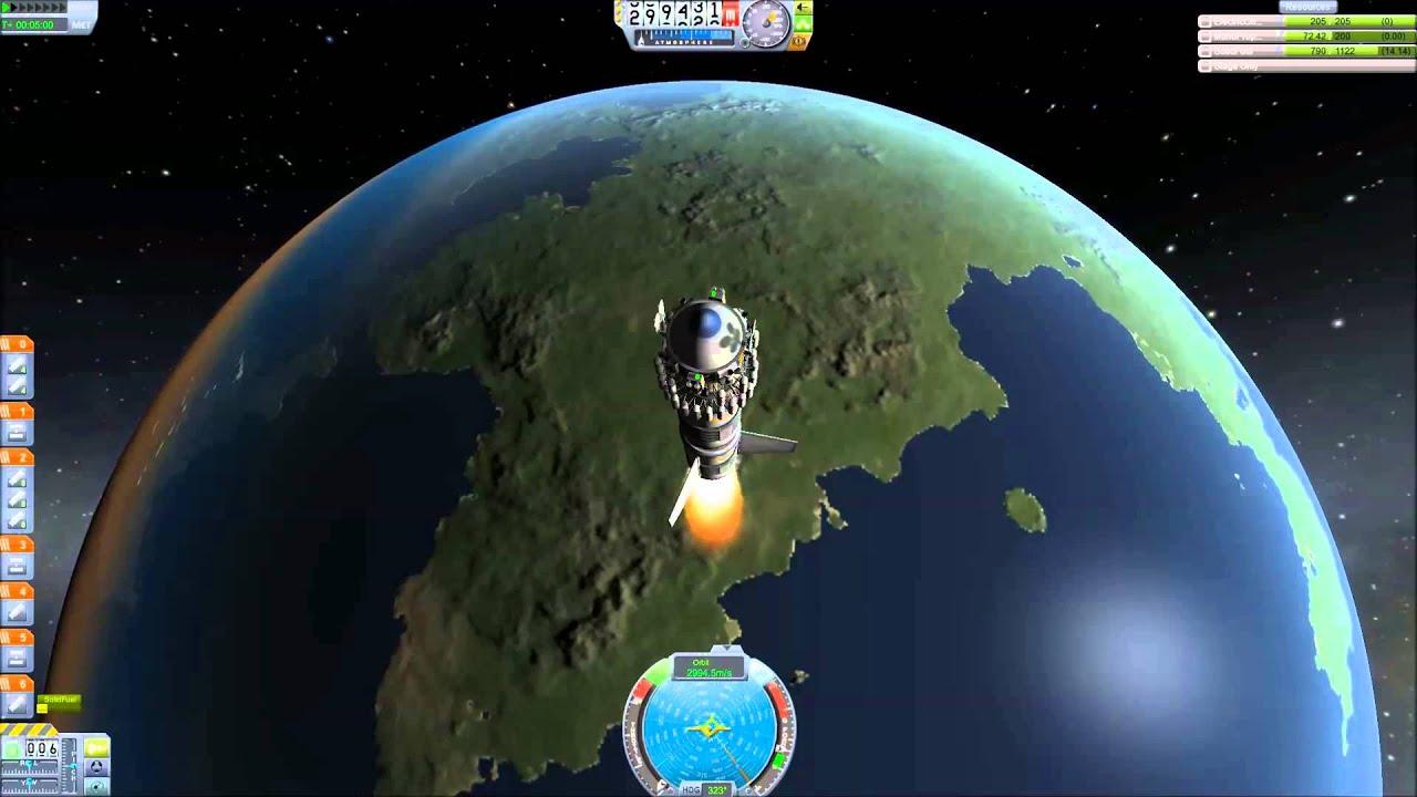 Kerbal Space Program Deep Space Probe - YouTube