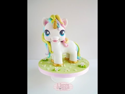 Twinkles the Unicorn Cake Topper