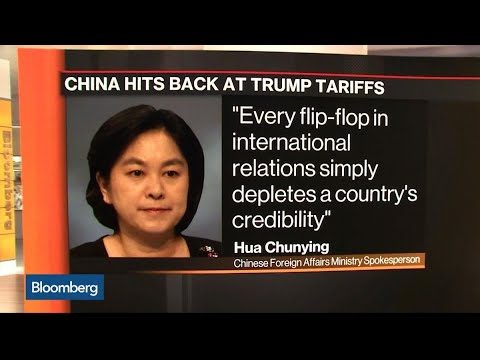 Trump Team Shows Divisions as China Hits Back on Tariffs