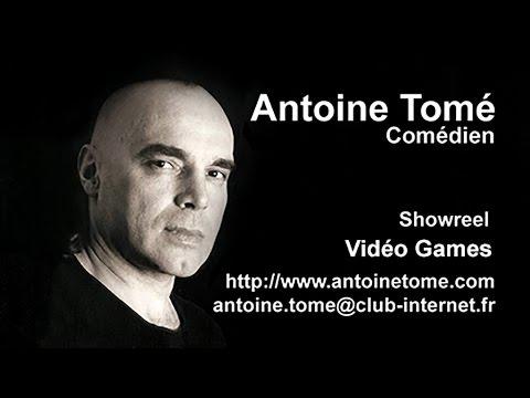 Vidéo Antoine Tomé Comédien Extraits doublage jeux vidéo