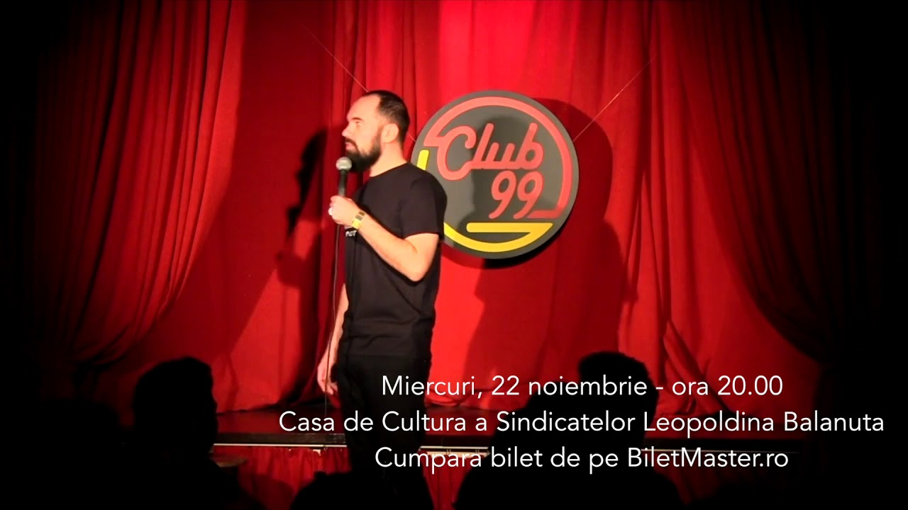 Teo - Stand-Up Comedy in Focsani - 22 Noiembrie