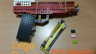 Лего пистолет с магазином / Lego Pistol With Mag