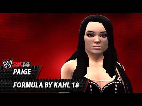 WWE 2K14: Paige CAW Formula By Kahl 18 (Works on WWE 2K15!)