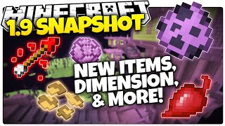 Minecraft 1.9 Snapshot | New Food, New Dimension, New Loot & More! (Minecraft 1.9 Snapshot News)