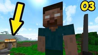 МОД НА ГИГАНТА ХЕРОБРИНА и ОРУЖЕЙНИК ТРОЛЛИНГ нубами в НЕРЕАЛЬНОЕ ПРОХОЖДЕНИЕ Minecraft Серия 03
