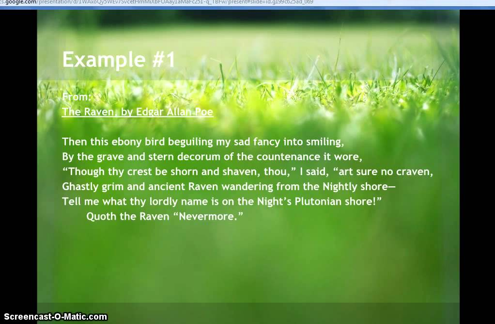 examples of personification in poetry  examples of personification in poetry