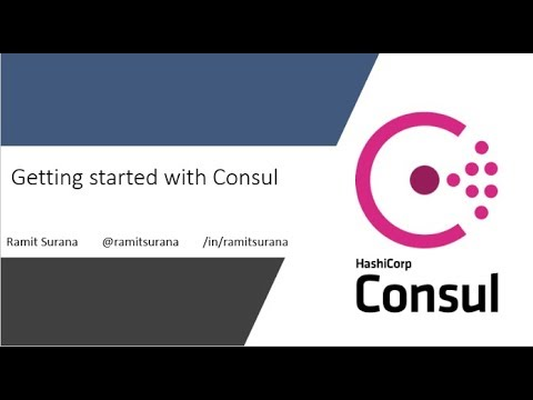 Getting Started with Consul