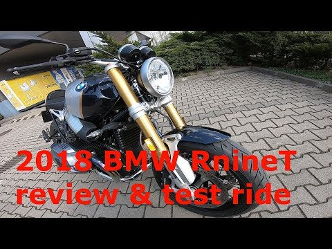 2018 BMW RnineT review and test ride