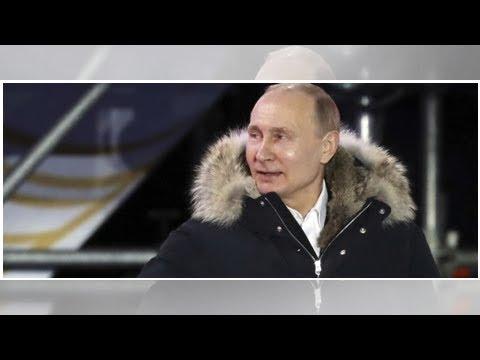 Nach Putins Sieg: Deutsche Politiker kritisieren Rußland-Wahl