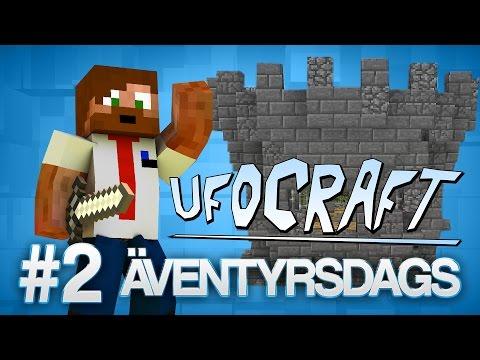 ÄVENTYRSDAGS! | Minecraft UfoCraft - #2