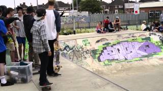 Zach Riley @ Cleethorpes Bowl Jam 2013
