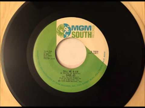 Tell Me A Lie , Sami Jo , 1974  Vinyl 45RPM