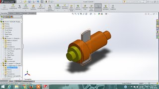 solidworks tutorial | cotter joint | part drawing | assembly