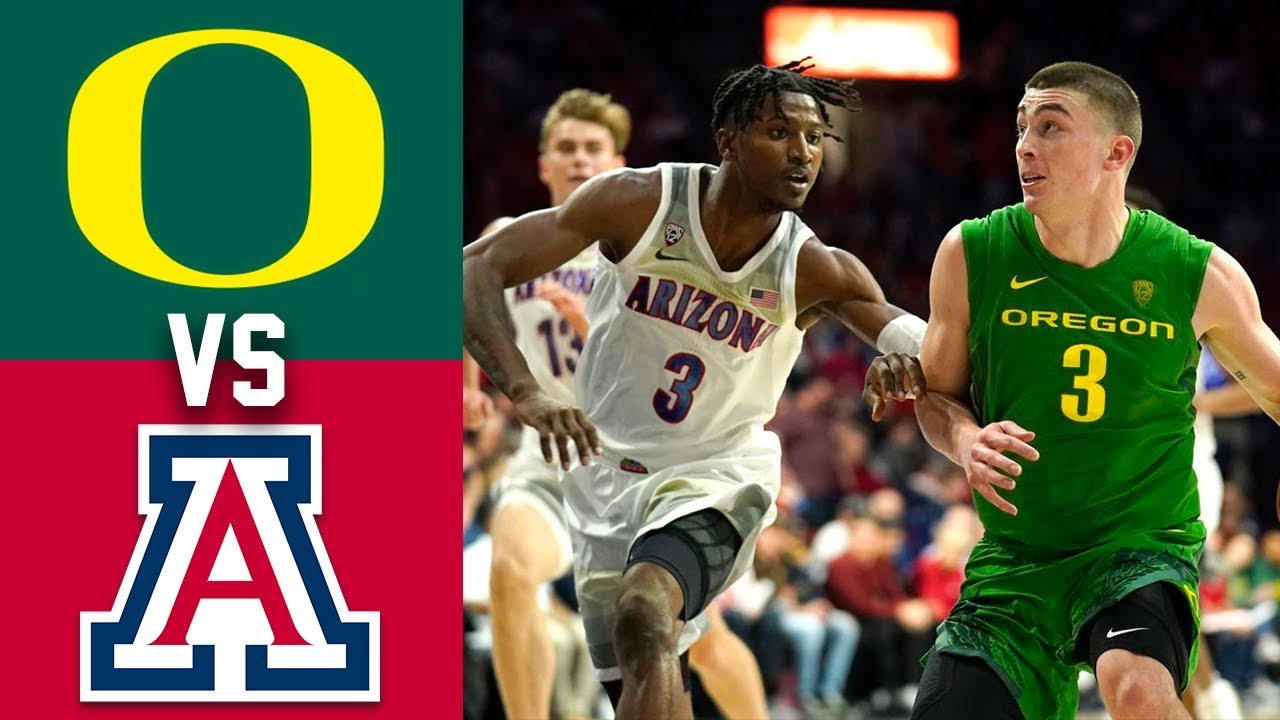 #14 Oregon vs #24 Arizona Highlights 2020 College Basketball