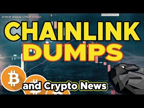 CHAINLINK DUMPS on investors and other Crypto News