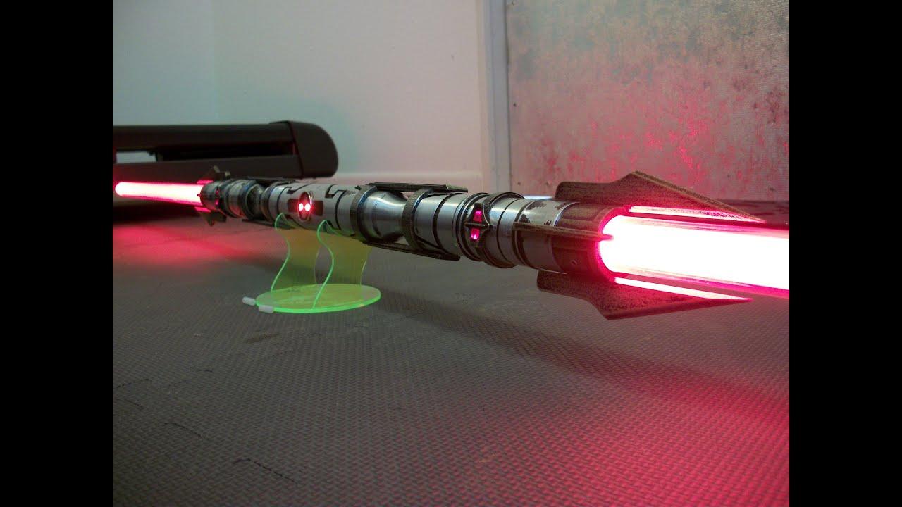 Darth Vectivus Lightsaber: Darth Vindican Lighted Saber Project By LDM