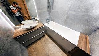 САМАЯ КРАСИВАЯ ванная комната своими руками | Идеи для ванной комнаты  4 - я серия