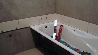 2 этап ремонт ванной комнаты (с укладкой плитки) www.remsanteh.ru(http://www.remsanteh.ru/ - мой сайт http://www.remsanteh.ru/foto_job/foto.php?obj=2015-03-20 фото и видео совмещённого санузла по этапам все..., 2015-04-12T06:59:00.000Z)