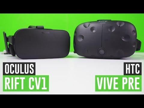 Oculus Rift vs. HTC Vive: chi vince?