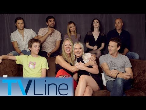 The Gifted Cast Interview | Comic-Con 2017 | TVLine