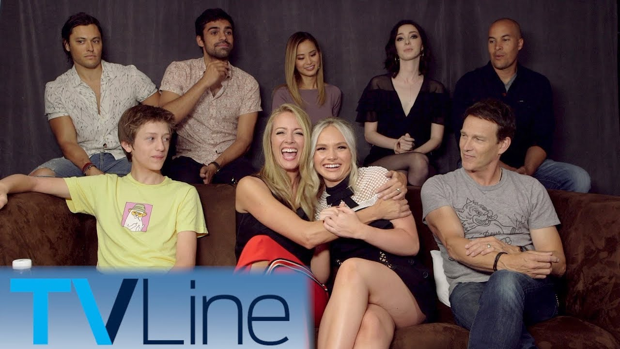 Download The Gifted Cast Interview   Comic-Con 2017   TVLine