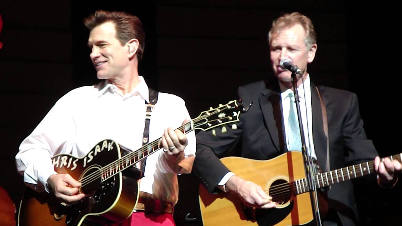 Photo of Chris Isaak  & his  Brother  Nick Isaak