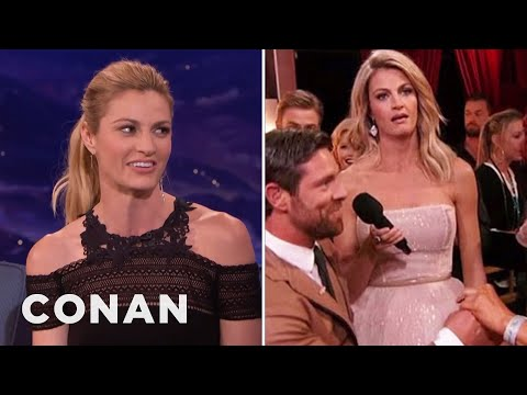 "Erin Andrews On Her ""Dancing With The Stars"" Proposal Eye-Roll  - CONAN on TBS"