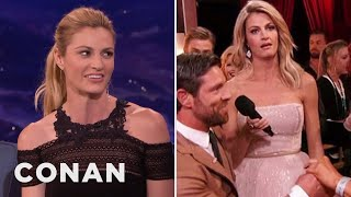 """Erin Andrews On Her """"Dancing With The Stars"""" Proposal Eye-Roll  - CONAN on TBS"""
