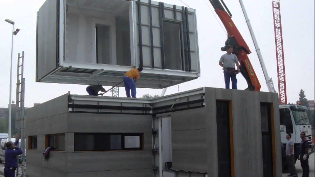 Viviendas prefabricadas modulares e industrializadas www - Casas prefabricadas por modulos ...