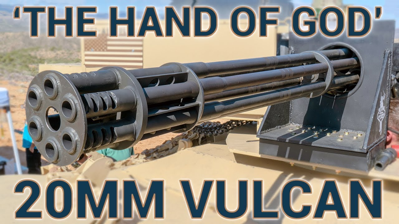 """Download """"The Hand of God"""" M61 20mm Vulcan Cannon"""