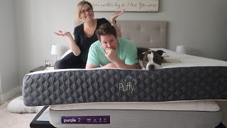 Puffy Lux Vs Purple 2 Mattress Review