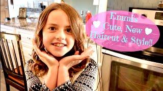 Emmi's Cute New Haircut & Style!!