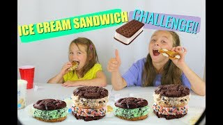 Ice-cream Sandwich Challenge | GROSS!!